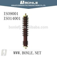 33kV porcelain high voltage lightning arrestor