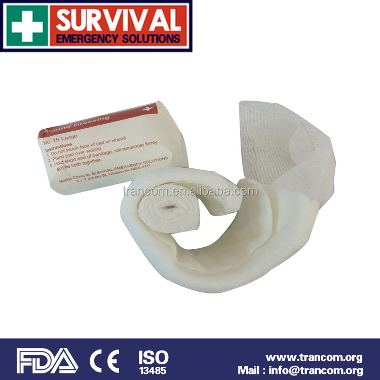 Survival bandage Medical Wound dressing 1030