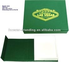 custom order leather gifts packaging box China supply