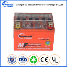 Maintenance Free 12V 4AH Gel Motorcycle Battery