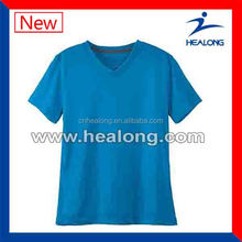 Fashional V-neck Cotton soccer T-shirts