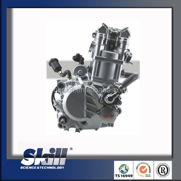 2016 Genuine zongshen water cooling motorcycle engine 250cc china