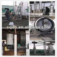 scrap plastic to oil extracting equipment form waste plastics from donghe