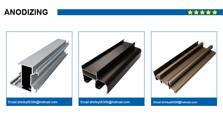 h shaped aluminum extrusions profiles 6063-T5 profiles for windows