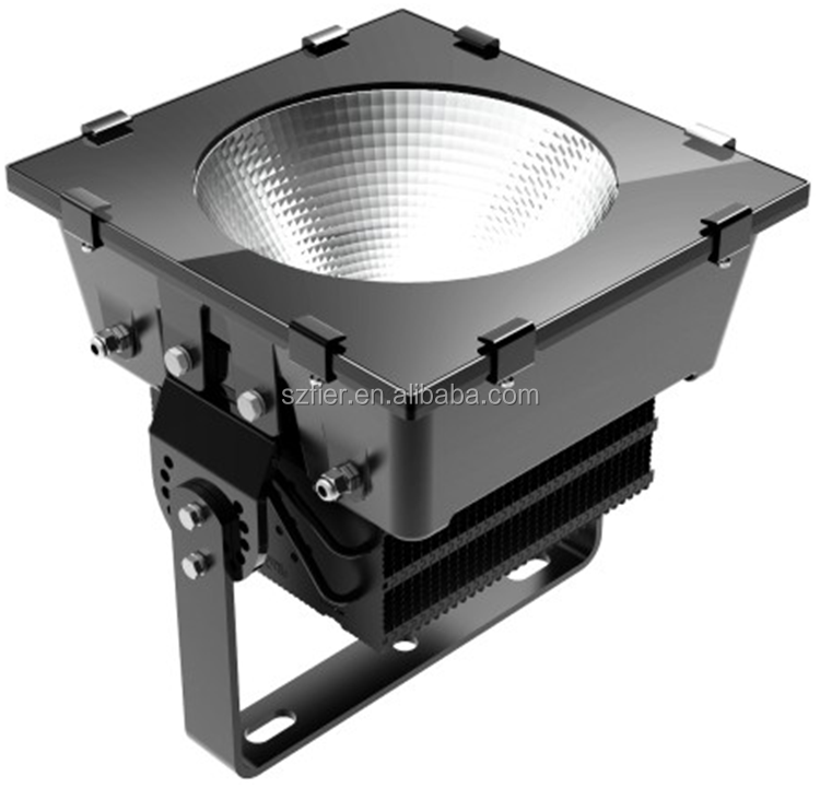 IP65 led high mast light 1000w led square light
