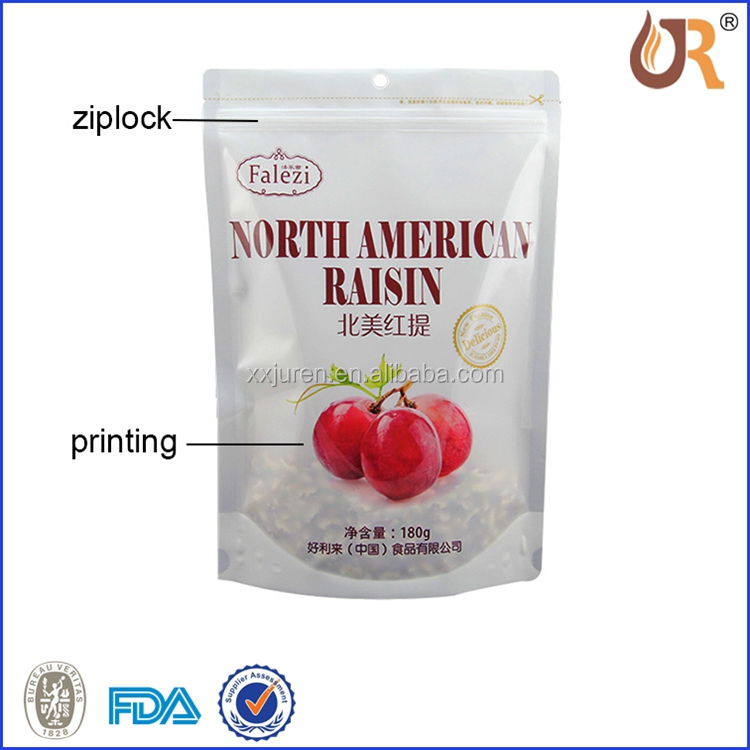 JUREN Plastic plastic medical waste bags with customized logo/medical Zip Lock Bag with Tear Notch/pharmaceutical packaging bags