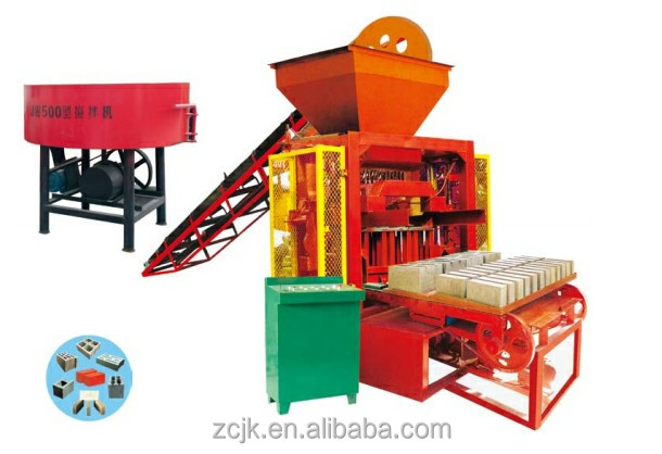 QTJ4-35I Block Forming Machine/brick machine pallets/baking free brick machine