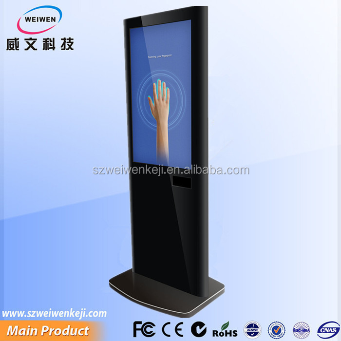 restaurant menu! 42inch lcd screen wired or wireless remotely control android 4.2 hd network media player