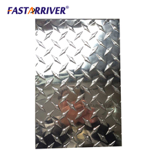 For Decoration And Construction Non Skid 3003 5mm Aluminum Checkered Sheet Plate