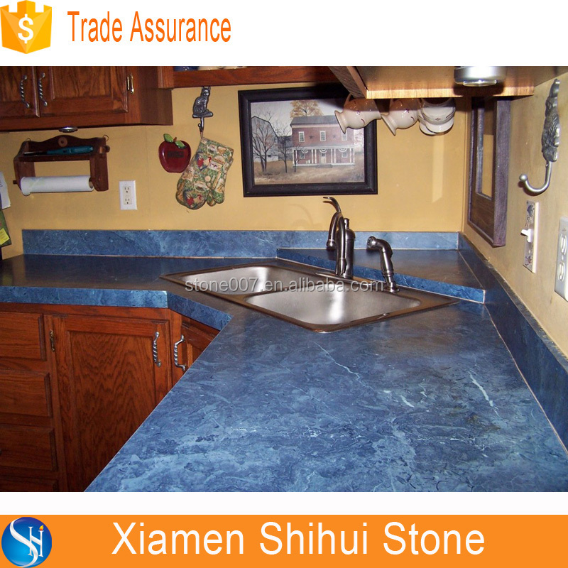 2015 New Blue Quartz Countertop