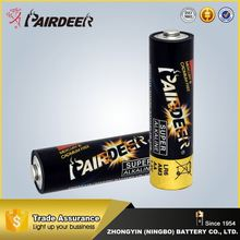 Reasonable & acceptable price factory directly 1.5v alkaline battery lr6 aa alkaline