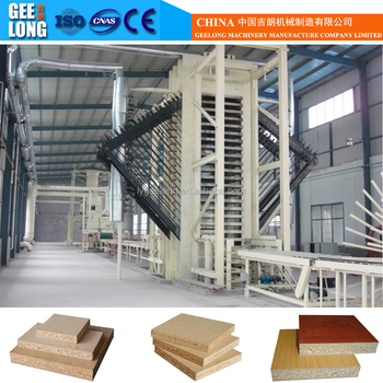 1220x2440x10 to 30mm full automatic osb production line