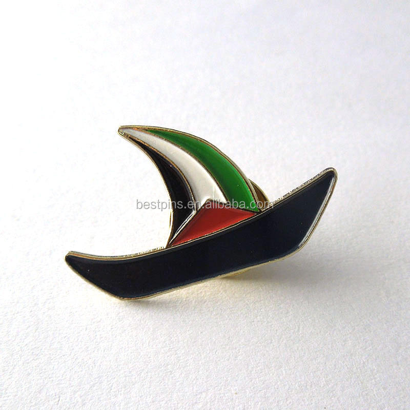metal souvenir badge custom engraved soft enamel good quality lapel pin