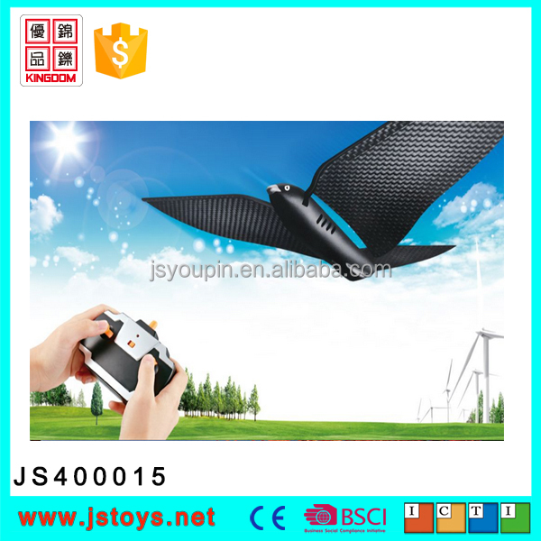high quality remote control plastic flying bird toys for promotion