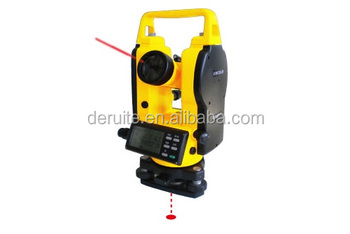 SURVEYING INSTRUMENT: laser theodolite DGT02LLD