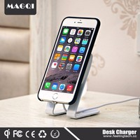 MAGQI Wholesale Car Holder Magnetic Qi Wireless Charger For Smartphone