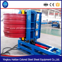 Used Color Sheet Metal Roof Panel Bend Machine