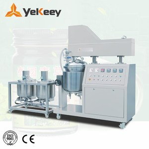 Wax mixing emulsifying machine