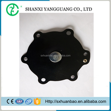 Membrane diaphragm valve for air pulsing filter system