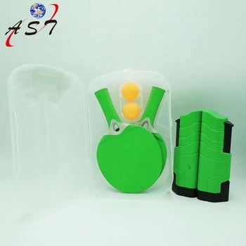 Table Tennis Racket Set With 2 bats and 3 balls