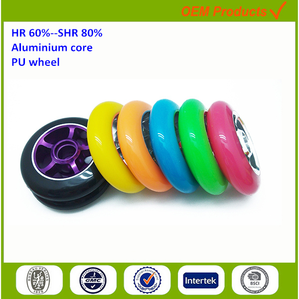PU wheels travelling case parts shopping bag accessories