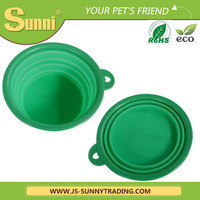 Pet outdoor dog travel bowl