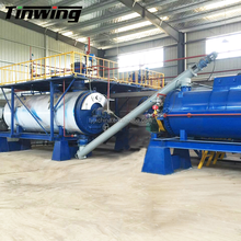 Industrial Slaughterhouse Poultry Waste Rendering Process line for Customized