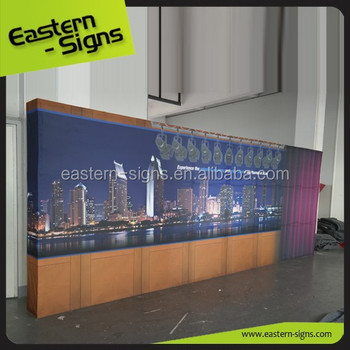 20ft Veclro Pop Up Display Booth