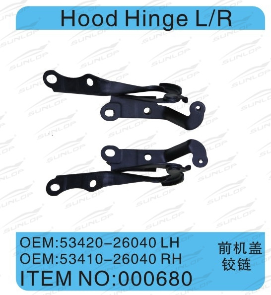 KDH200 for hiace AUTO PARTS HOOD HINGE L/R
