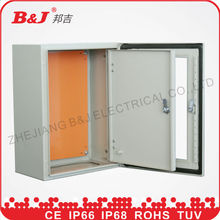 metal electrical switch panel board with glass IP66