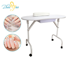 Foldable Beauty Nail Table / ZHENYAO MT-001 Manicure Table