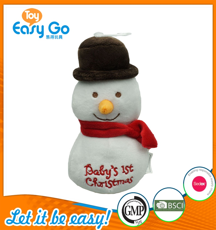 Christmas Toys Product : High quantity cute plush toys christmas snowman
