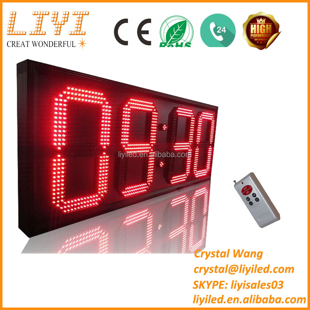 12 15 28 20 22 24 32 inch large digital 7 segment led gas station price sign