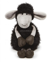 Cute Plush Black Sheep Stuffed Animal Toy