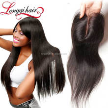 Black Can be Dyed Honey Blonde Human Hair Full Lace Wig Weave Hair Extensions with Lace Closure Hair Piece