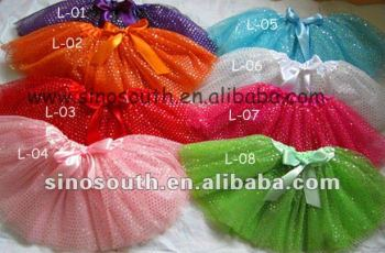wholesale sequin kids sparkle dance tutu skirts for girls