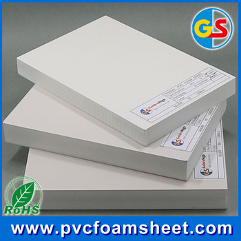 colored and waterproof PVC FOAM SHEET for furniture hardware and advertising
