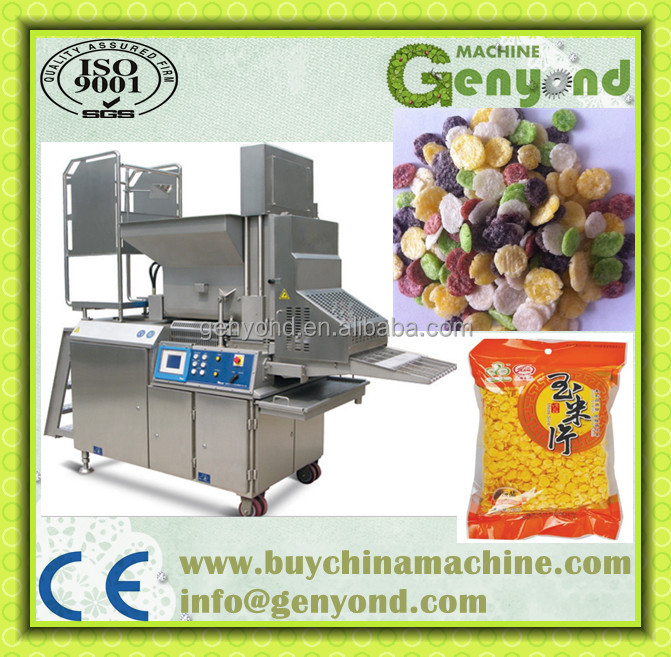 High quanlity Corn Snack / Breakfast Cereal Corn Flakes Production Line