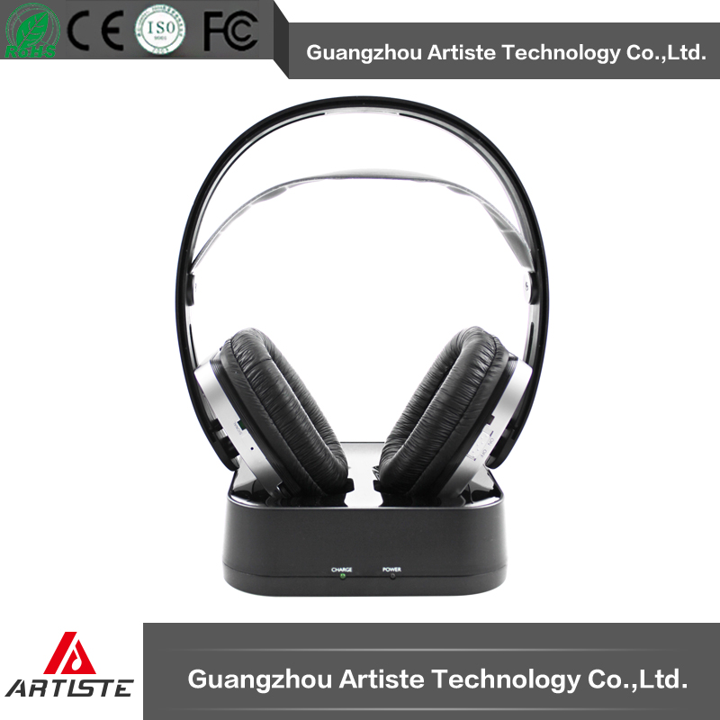Fashion wireless Hi-Fi dj headphones for silent discos/silent theater,parties and events