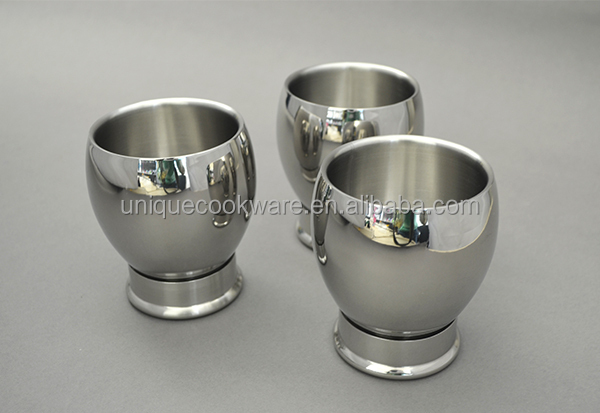 9OZ Stainless Steel Double Structure Body Coffee Tea Mugs Cup NEW