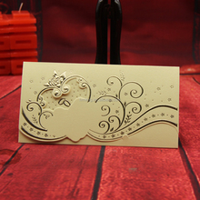 New fashion wedding invitations/ Party greeting paper wedding card/Wedding paper decorations or gifts