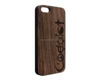walnut wood smart phone case for iphone,wooden cell phone cover for iphone7,mobile phone accessories