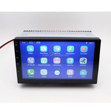 2 Din car stereo radio GPS navigation Universal Android 7.1 Quad Core car head unit without DVD player