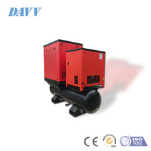 22 KW 30HP Mini Tank Drive On Screw Air Compressor With dryer