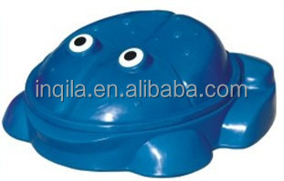 Hot Sale Turtle Pool Plastic Sandpit with Cover
