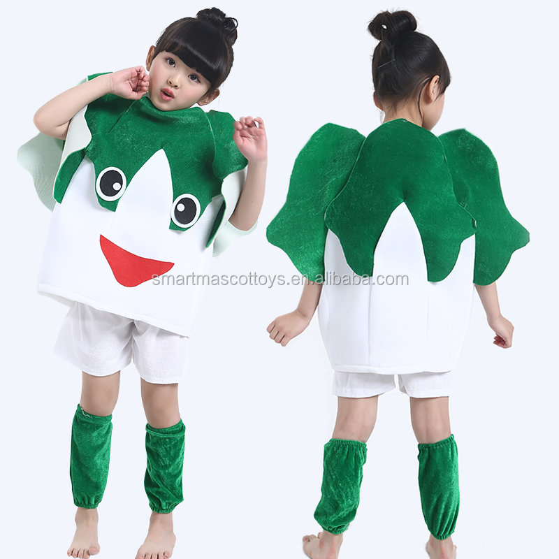 Plush cabbage mascot costume vegetable costumes for kids