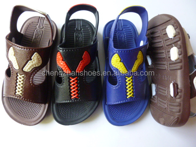 comfortable and cheap children sandals in eva