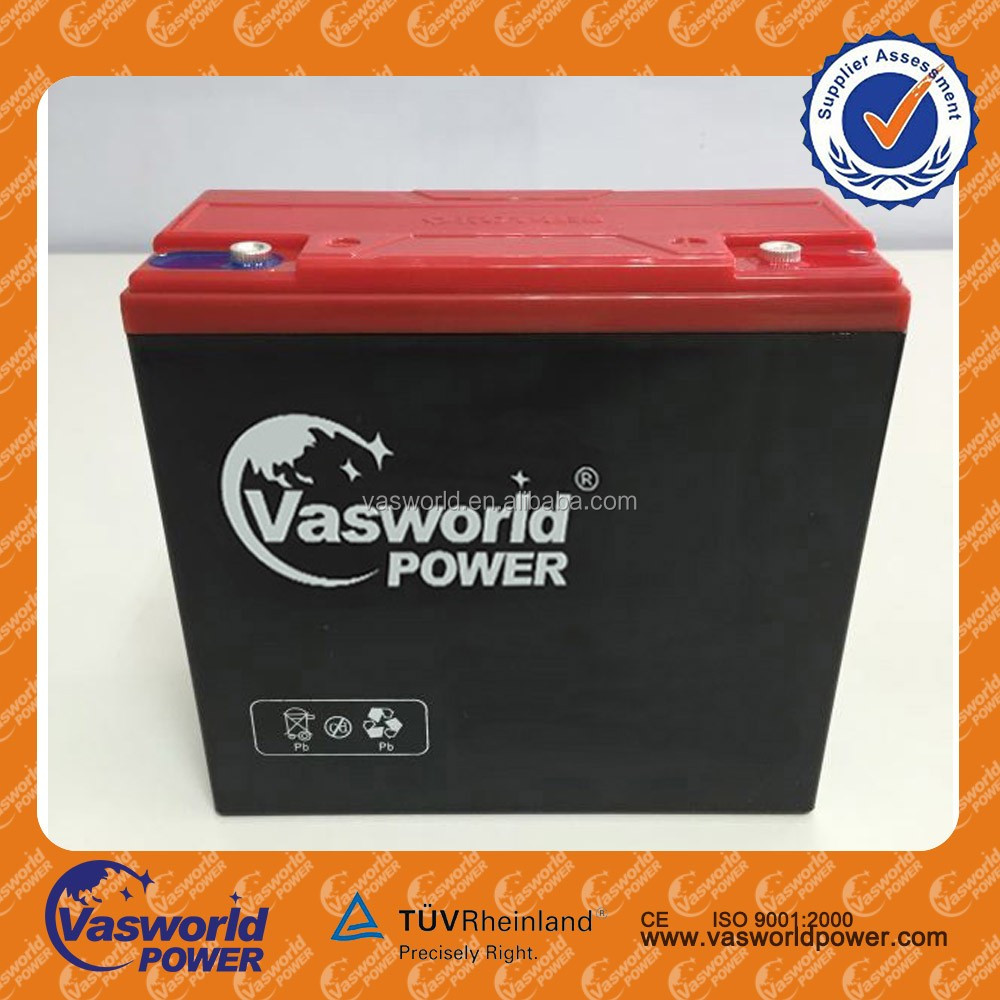 China supplier Electric Vehicle Lead Acid Battery Series