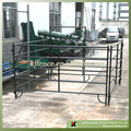 1.6m high black color metal cattle panels