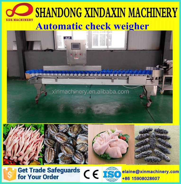 multi grade online chain check weigher for sale
